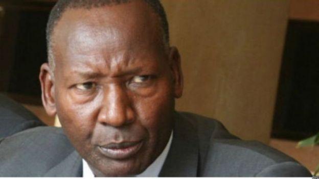 Marehemu Jenerali Joseph Nkaessary alikuwa waziri wa usalama nchini Kenya