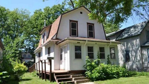 La casa del film Purple Rain que Prince compró.