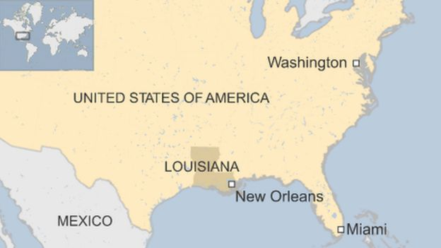 New Orleans Shooting On Bourbon Street Leaves One Dead And Nine - Map of us new orleans
