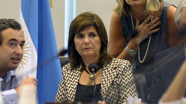 Ministra de Seguridad, Patricia Bullrich