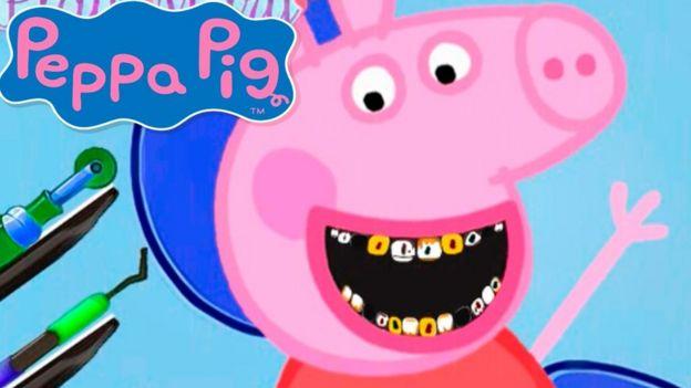 Los perversos videos de peppa pig ecuavisa for En youtube peppa pig
