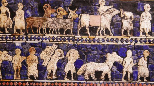 The Standard of Ur (c. 2600 BCE) British Museum.