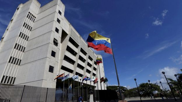 File image of the Supreme Court in Caracas. 28 June 2017