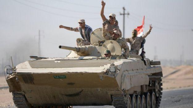 Irak ordusu güçleri