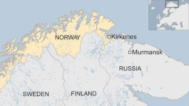 Migrant Crisis Norway Begins Deportations To Russia BBC News - Sweden russia map
