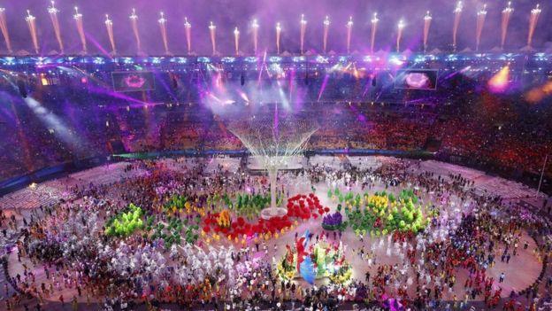 Closing ceremony, Rio Olympics