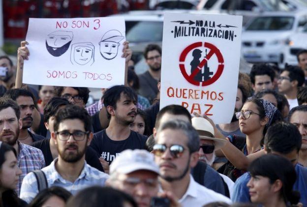 Protesta en Guadalajara