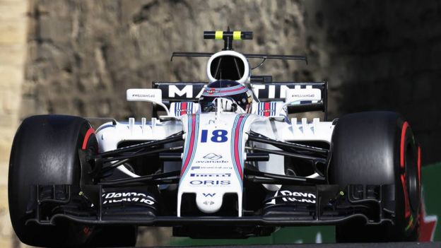 Carro da Williams da F1