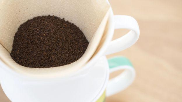 Filtro de papel para café