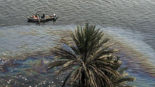 Poluição no Nilo