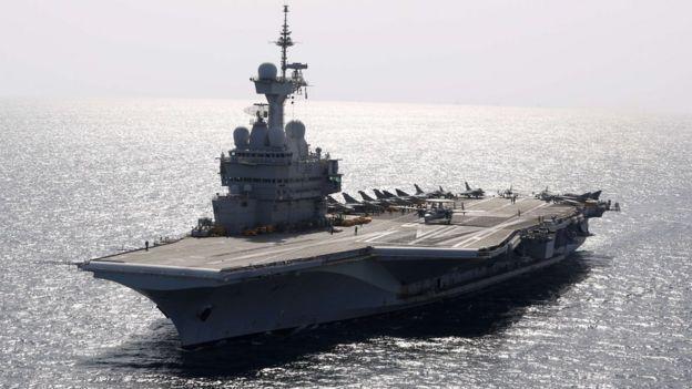法国航空母舰戴高乐号