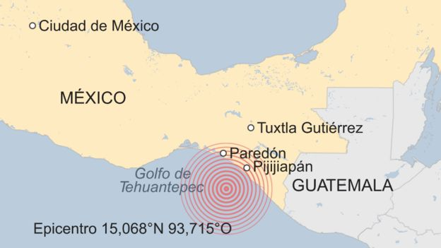 Terremotos y volcanes _97716787_mundo_mexico_earthquake_08.09.2017