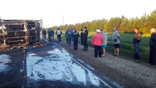 В страшном ДТП в Татарстане погибли тринадцать человек