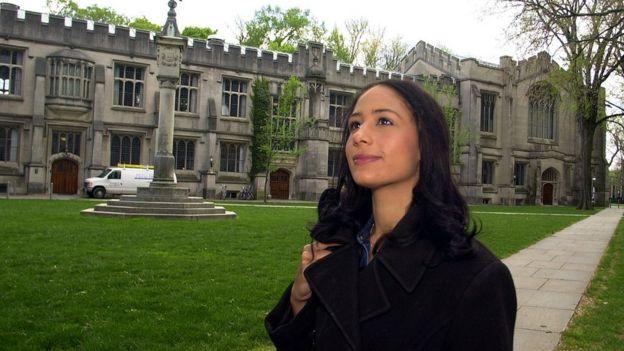 Estudante na Universidade de Princeton