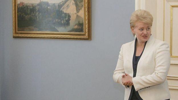 Presidente da Lituânia Dalia Grybauskaitė