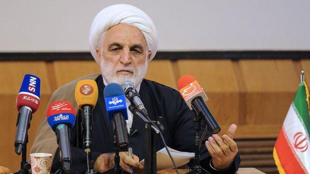 غلامحسین محسنی اژهای، سخنگوی قوه قضاییه ایران، محمود احمدی نژاد را به