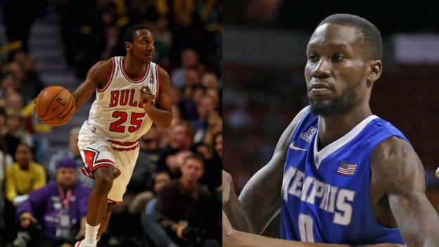 Marquis Teague (left) and Trahson Burrell (right) - picture playing for former clubs