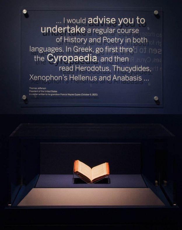 نامهی توماس جفرسون به نوهاش