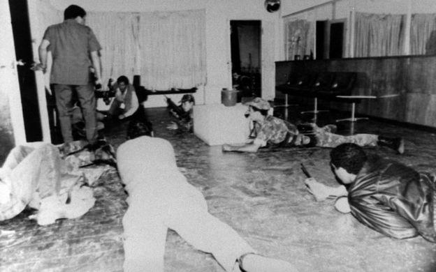 Golpe de estado de Chávez en 1992.