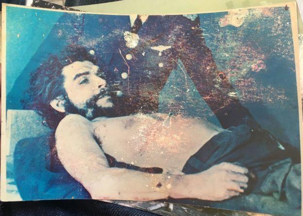 Foto antigua del Che