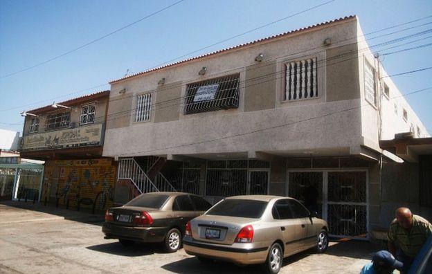 Casa en la que fue capturado Juan Carlos Sánchez Latorre en Maracaibo, Venezuela. (Foto: Humberto Matheus)