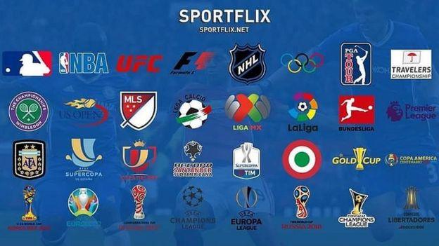 Torneos que anuncia Sportflix