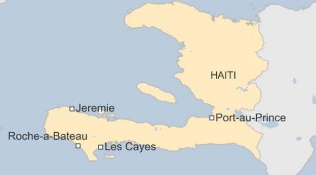 global disaster map of usa hurricane matthew haiti storm disaster kills hundreds bbc news