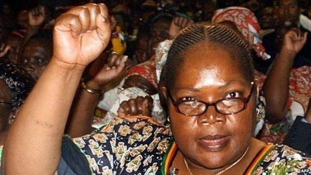 Zimbabwe, Joice Mujuru