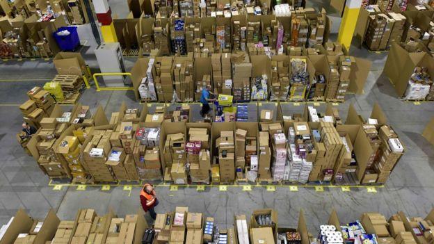 Depósito da Amazon