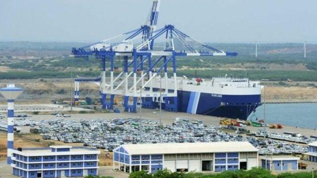 斯里蘭卡的漢班托塔港