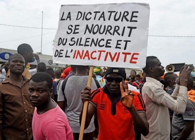 A Sokodé dans le nord du pays où deux personnes ont été tuées le mois dernier lors des manifestations similaires, tout se déroule également dans le calme.
