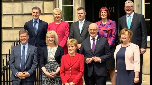 Scottish cabinet reshuffle: John Swinney becomes education ...