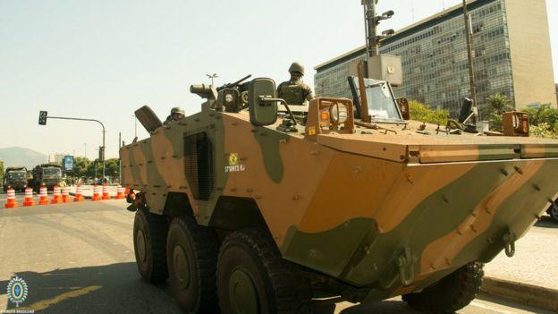 Ação do Exército nas Olimpíadas