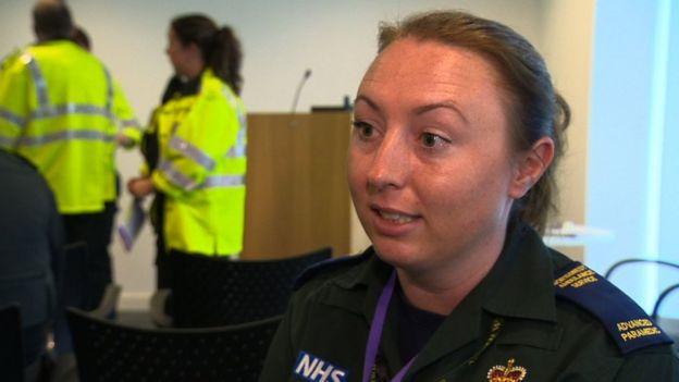 Paramedic Sarah Harrison