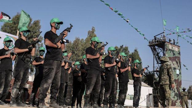 شبه نظامیان حماس