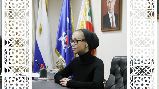 Замминистра Чеченской республики по национальной политике Екатерина Курашева