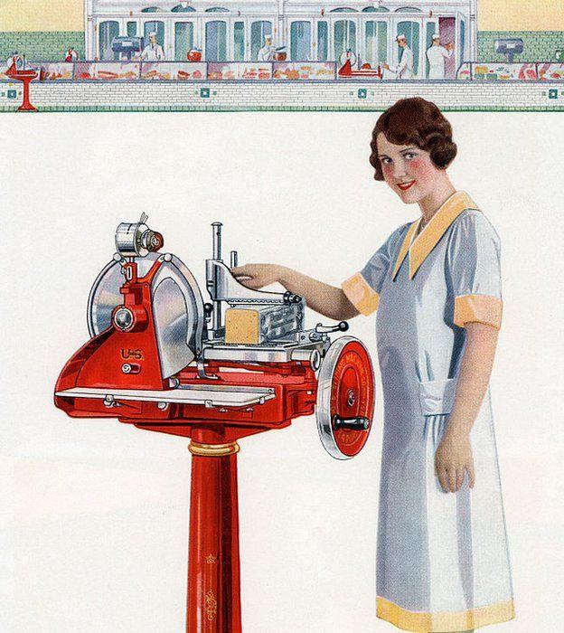 Panadera con máquina