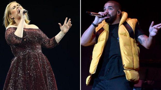 Adele y Drake