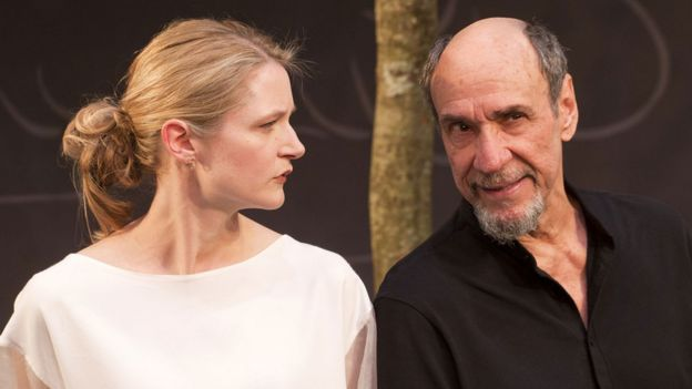 F Murray Abraham with Naomi Frederick in The Mentor