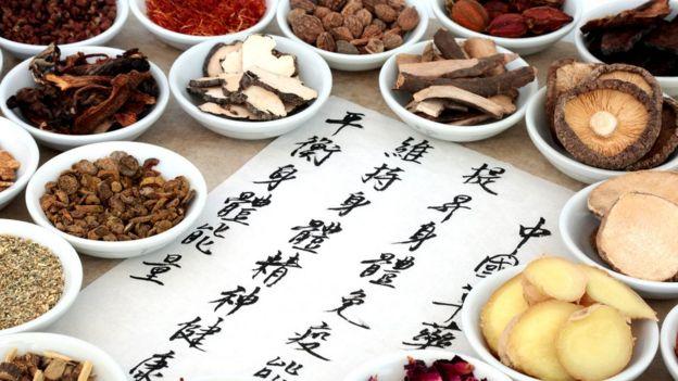 Hierbas de la medicina tradicional china