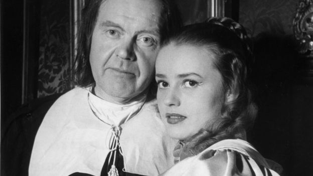 Fernand Ledoux and Jeanne Moreau