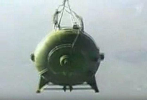 La AVBPM lanzada desde un avión