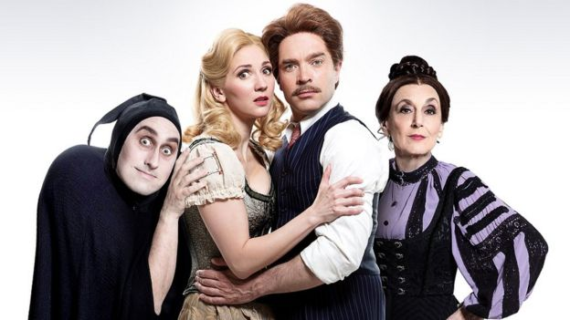 The cast of Young Frankenstein