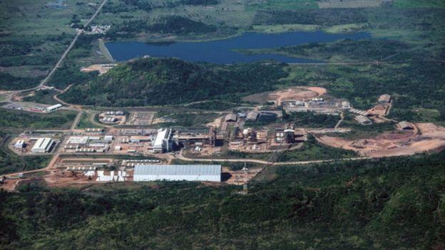 Instalación minera en el estado brasileño de Pará.