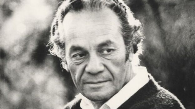 Nicanor Parra. Foto: Jorge Aravena llanca. Biblioteca Nacional de Chile