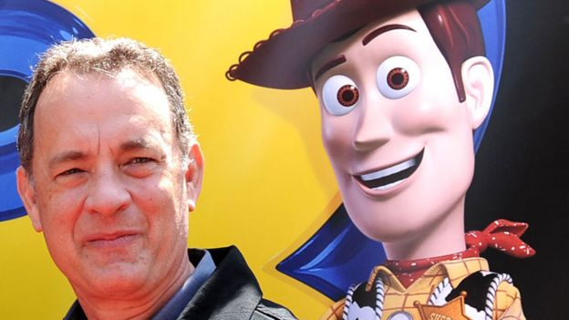 Tom Hanks and Woody
