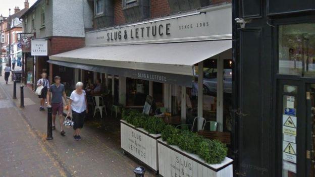 The Slug and Lettuce pub