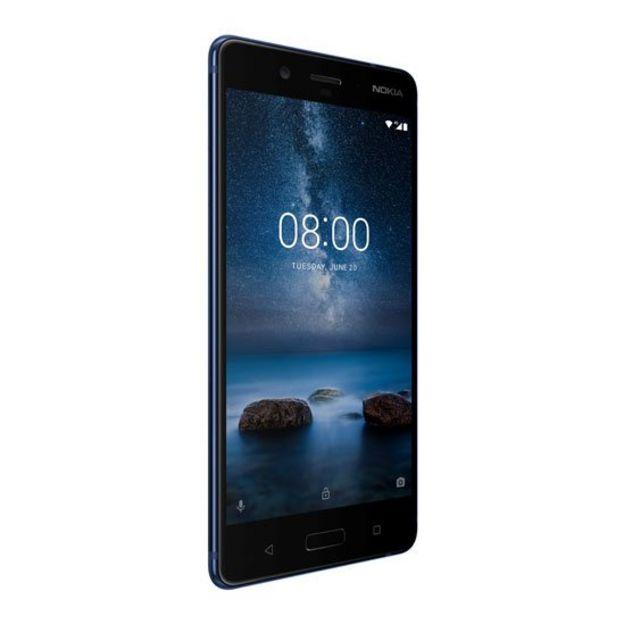 Parte frontal de un Nokia 8