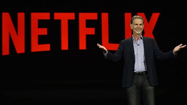 CEO de Netflix Reed Hastings