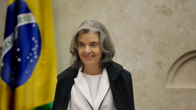 A ministra do Supremo Cármen Lúcia